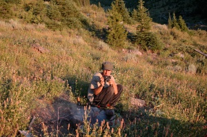 Jason Schmidt (now of Long Tom Watershed Council) was the sole field assistant on this trip.